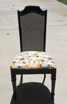 Cane chair redo on pinterest cane back chairs canes and chairs