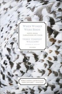 When Women Were Birds by Terry Tempest Williams  This book came out the day after my birthday, and four months later it still feels like one of the best gifts I've ever gotten. In these 54 variations on voice, Williams contemplates what it means to be a woman, a daughter, a mother, a wife. It is poetry as much as it is memoir and if you're anything like me, phrases and passages will get carved into your brain.   –Jenn Northington