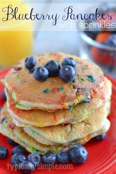 Blueberry Pancakes w