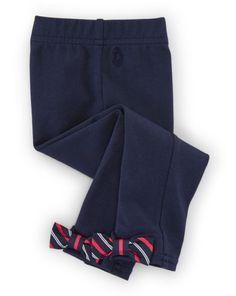 Bow-Back Legging - Baby Girl Pants, Leggings & Shorts - RalphLauren.com