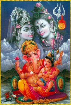 Shiva Parvati Images, Lakshmi Images, Lord Krishna Images, Shiva Shakti, Shiva Art, Ganesha Art, Hindu Art, Lord Ganesha, Jai Ganesh