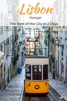 Lisbon, Portugal: The Best of the City in 2 Days - the unending journey European Vacation, Italy Vacation, European Travel, Travel Around Europe, Europe Travel Tips, Travelling Tips, Travel Guides, Traveling, Places In Portugal