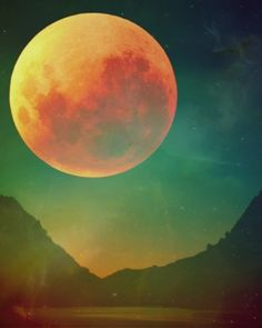 (23) super full moon | Tumblr