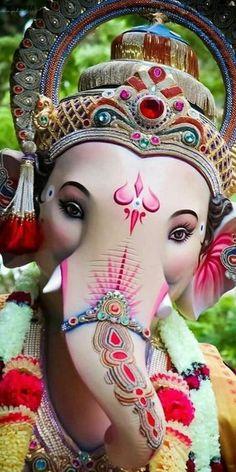 New Lovely Lord Ganesha Famous And Popular Lord Ganesha Wallpaper Collection. Lord Ganesha's World Popular Wallpaper collection. Jai Ganesh, Ganesh Lord, Shree Ganesh, Ganesha Art, Ganesha Sketch, Lord Durga, Ganesh Tattoo, Ganesh Chaturthi Photos, Happy Ganesh Chaturthi Images