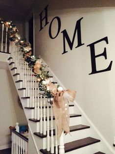 Best Modern Farmhouse Stairway Farm House Staircase Wall 640 x 480
