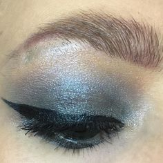 "24 likerklikk, 2 kommentarer – Makeup-enthusiast (@beautycaybh) på Instagram: ""Metallic Grey 😎👽 Eyeshadows from Technic Cosmetics - Eyeliner from IsaDora - Eyebrow from Nyx…"""