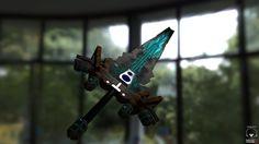 cyberpunk sword