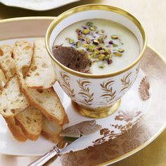 This creamy chicken liver pate can be spread on crostini, stuffed into Cognac-poached prunes, or even shaped into small balls and deep-fried with sage leaves.