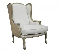 Michelle Wingback Lounge Chair. A Block and Chisel Product.