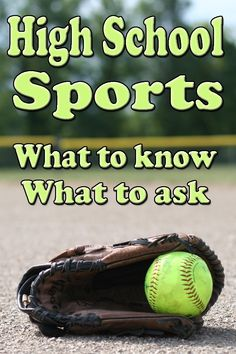High School Sports High school sports - learn what you need to know, what you need to ask and what you can expect when your child starts playing middle or high school sports. Athletic Scholarships, Scholarships For College, Sports Mom, School Sports, In High School, Middle School, Great Places To Travel, College Search, Making The Team