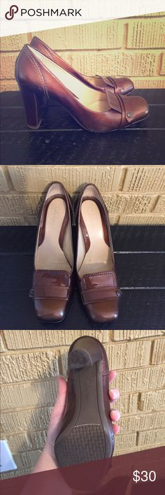 abeb10ba86eb Cole Haan copper heels These are super cute and perfect for fall! These are  pre