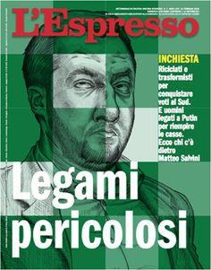 La copertina dell'Espresso in edicola da domenica 11 febbraio