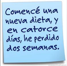 #nueva_dieta / #Viernes #Humor http://www.gorditosenlucha.com/