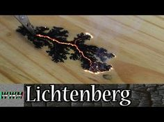 Making Lichtenberg device for burning wood - YouTube