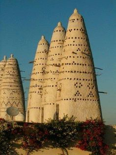 """Egyptian pigeon houses . Also called Doves Houses. There is a great book called the """"Dove Keepers"""" that explains the purpose of such houses and an interesting and well researched story about the area and time period."""