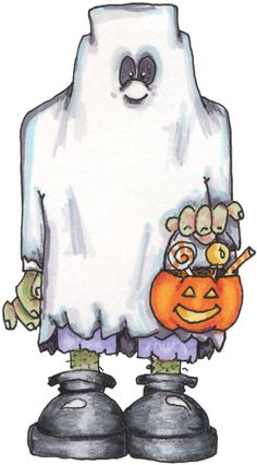 Picasa Web Albums (many cute images) Casa Halloween, Halloween Rocks, Halloween Cartoons, Halloween Painting, Halloween Drawings, Halloween Clipart, Theme Halloween, Halloween Pictures, Halloween Ghosts