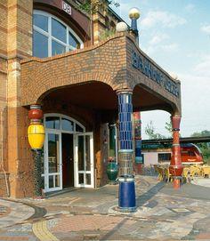 Hundertwasser Environmental Railway Station, Uelzen