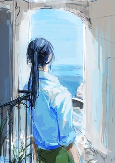 Pretty Art, Cute Art, Illustrations, Illustration Art, Majora Mask, Banana Art, D Gray Man, Handsome Anime Guys, Fanarts Anime