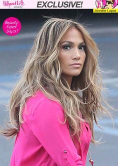 Jennifer Lopez's Hair On 'American Idol' — Rocks Stunning Highlights - Hollywood Life