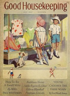 1937 Good housekeeping cover From the personal collection of Land Of Nod Studios