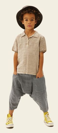 Alsolete Short Sleeve Shirt & Striped Thai Trousers