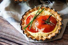 Tomato Tart Recipe • Whipperberry