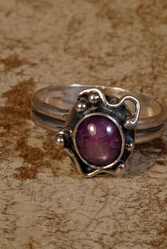 Genuine Star Ruby Ring size 8 by Foresthollow on Etsy, $168.00