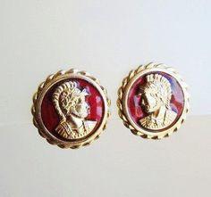 HOLIDAY SALE Vintage Earrings by Kramer by popgoesmyvintage