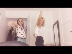 Carolina Kopelioff y Valentina Zenere bailando en los camerinos ! - YouTube