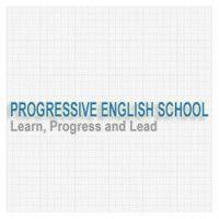 Progressive English School- Sharjah, UAE #Logo #Logos #Design #Vector #Creative #Universities #Education #Sharjah