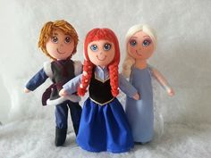 boneca de pano anna frozen - Pesquisa Google