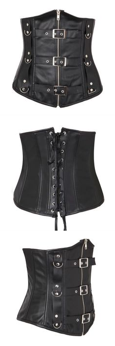 Women sexy pu leather corset black leather underbust bodysuits corset bustier top forever 21 #bustier #corset #philippines #corset #bustier #85d #corset #bustier #guepiere #corset #bustier #taille #48