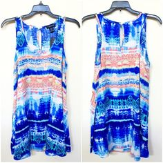 | new arrival | tribal tunic Tunic dress with tribal print and scoop neck.  100% Rayon Tops Tunics