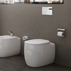 As the WC is one of the most sensitive elements in the bathroom, install a Roca electronic operating plate and activate the flush of your WC without having to touch it. Touchless. Zero contact, maximum hygiene. Roca Bathroom, Toilet, Zero, Plates, Touch, Electronics, Style, Rocks, Licence Plates