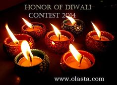 It's official people! In honor of Diwali- India's favorite festival, I'm holding a Diya making competition on Olasta and you're invited. Deadline is Oct 25 -28