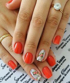 Red Nails, Nail Art Designs, Crafts, Beauty, Alice, Wallpaper, Perfect Nails, Pretty Nails, Pretty Gel Nails