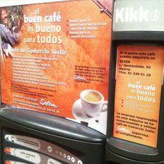 #Vending #Café #ComercioJusto #RSC @Setem_MCM