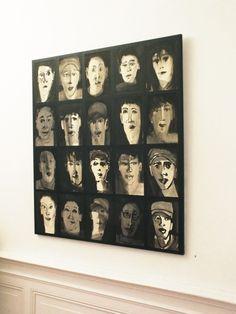 "Marjanne Beeuwkes, expositie ""en face"" in Galerie Bel-Etage, Amsterdam Amsterdam, Photo Wall, Portraits, Ink, Drawings, Frame, Home Decor, Picture Frame, Photograph"