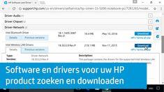 Downloads van HP software en drivers voor HP printers, laptops, desktops en meer | HP® Klantondersteuning