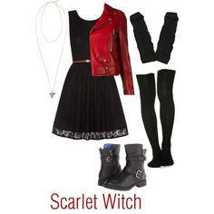 31 Best Scarlet Witch Outfit Images Witch Outfit Cosplay Costumes