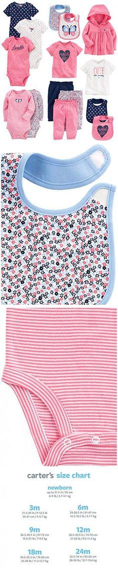8664e9035 Carter's Baby 15-Piece Basic Essentials Set | Baby | Pinterest | Baby, Carters  baby and Baby boy outfits