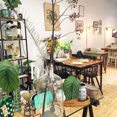 Bar en Zo - Vintage, greenhouse, coffee corner, local products - Prins Hendrikstraat - Den Haag