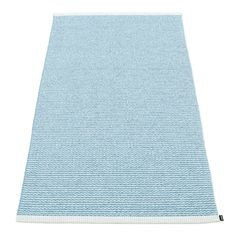 Mono Gulvteppe 85x260 cm, Ice Blue/Misty Blue - Pappelina - Pappelina - RoyalDesign.no