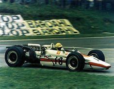 Honda RA302 | French GP 1968 | #18 Jo SCHLESSER | his first and last F1 GP | Fatal Accident (Au cours du troisième tour, la Honda de Jo Schlesser heurte le talus et s'embrasse instantanément.)