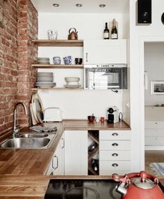 10 mini cocinas inspiradoras | Decoración