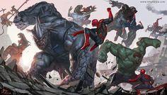 Spider War by In-Hyuk Lee