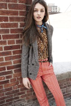 #Madewell mixed prints