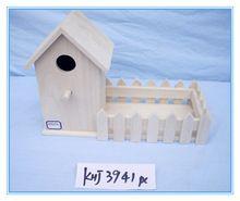 Home decor artesanato em madeira casa do pássaro