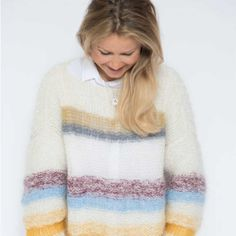 Knitting Patterns Sweaters Here it comes. Knitting Pattern on the Sweater (inspired by the FreePeople sweater), like many of the . Sweater Knitting Patterns, Knit Patterns, Knitting Sweaters, Diy Clothes, Clothes For Women, Dere, Summer Sweaters, How To Purl Knit, Sweater Outfits