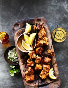Our tasty lamb tandoori recipe is dusted with classic Indian spices and served with lemon wedges and raita. It& simple to make at home for a fakeaway feast Lamb Recipes, Curry Recipes, Indian Food Recipes, Dinner Recipes, Healthy Recipes, Savoury Recipes, Dinner Ideas, Tandoori Lamb Recipe, Tandoori Recipes